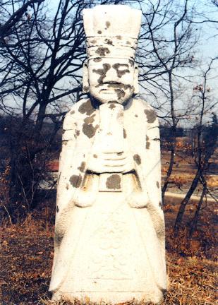 김좌명묘역문인석