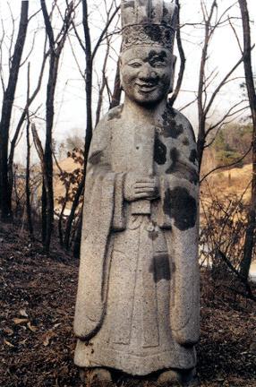 김성응묘역문인석