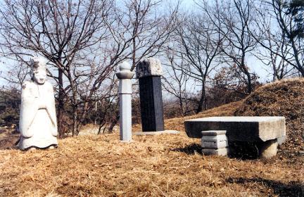김시묵묘역