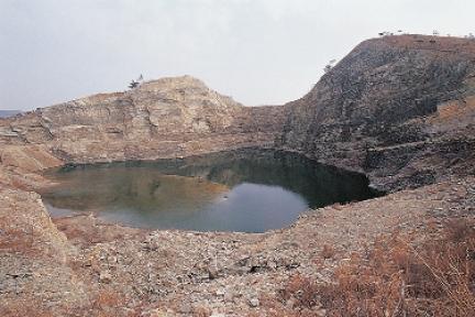 대부광산퇴적암층1