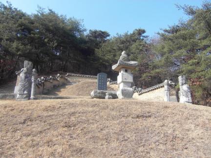 김청풍부원군묘역/2012/03/15