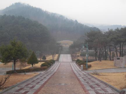 춘천의암유인석묘역전경/2012/03/14