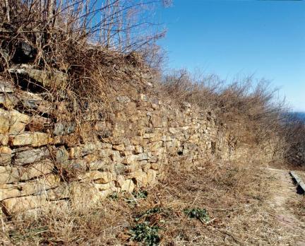 강릉 고려성 성벽