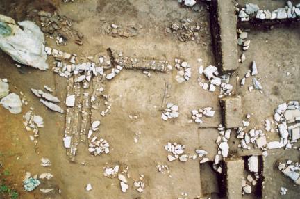 건물지3발굴후모습