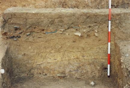 토층퇴적상태