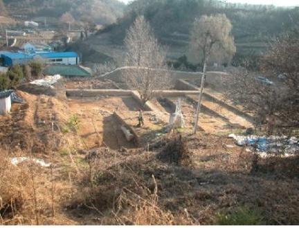 철원향교지 발굴조사 전경