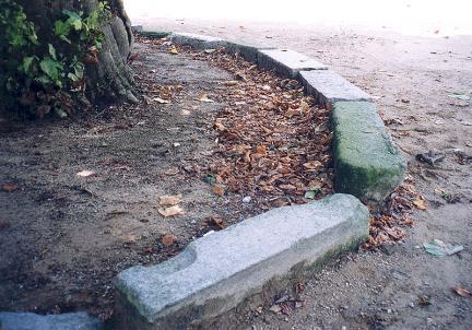 고부관아건물잔재물(초석,기단석,계단석등)