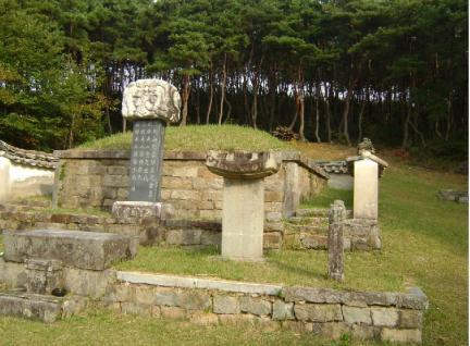 옥천부원군조원길묘및묘표