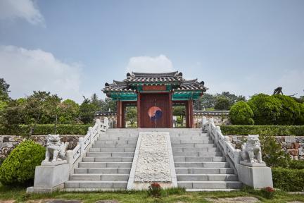 시도기념물 제147호_오산시궐리사_성상전내삼문정면