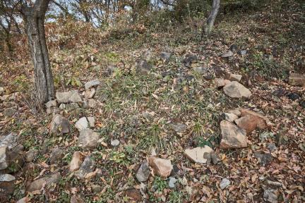 시도기념물 제159호_김포수안산성_성벽과성돌2