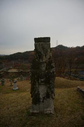 송기수의 묘역 사진촬영