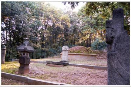 류순정,류홍 부자 묘역