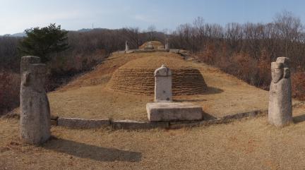 호안공 이등과 의령옹주 묘역