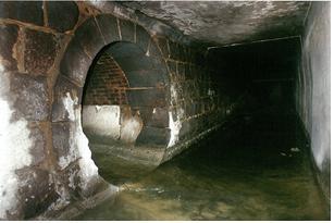 남대문로 지하배수로