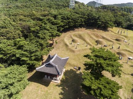 시흥 청주한씨 문익공파 묘역