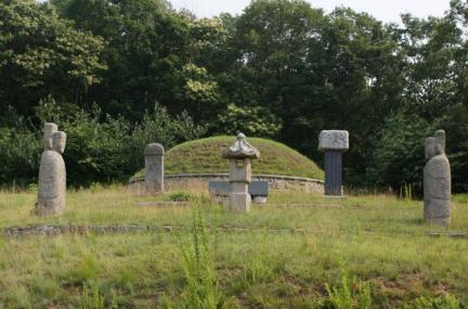 한백륜 묘역