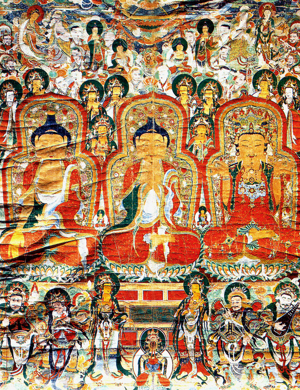 Buddhist Painting in Gapsa Temple