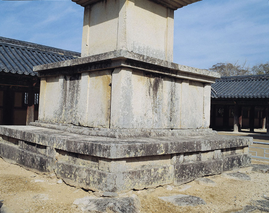 Three-story Stone Pagoda of Bulguksa Temple, Gyeongju