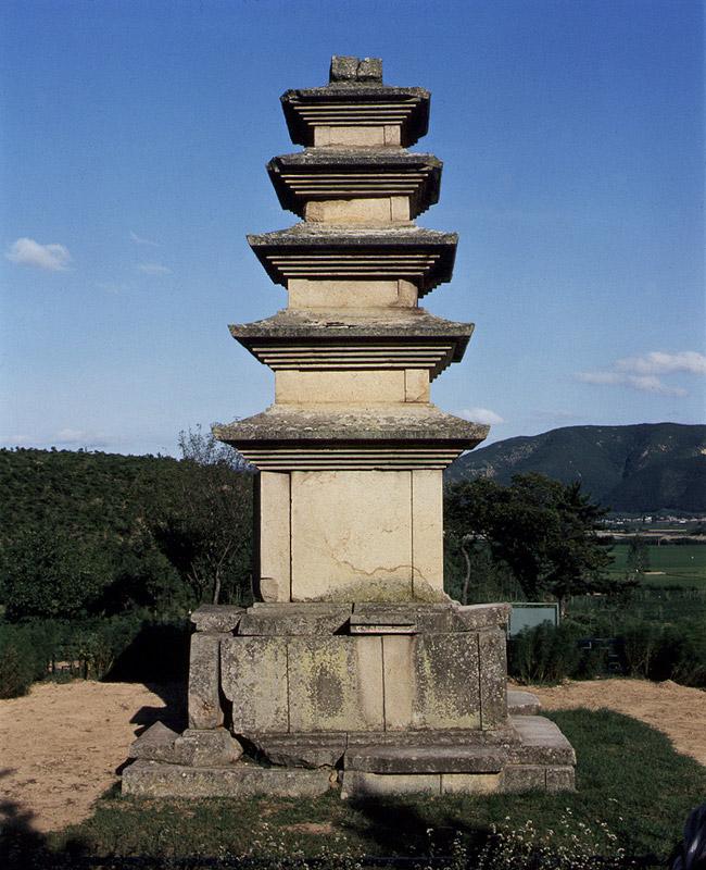 경주 나원리 오층석탑