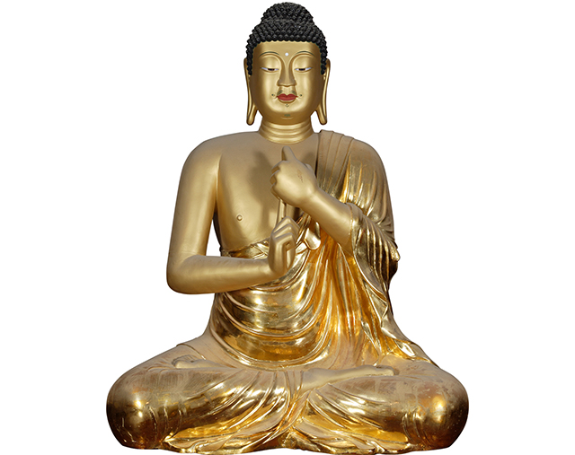 Gilt-bronze Seated Vairocana Buddha of Bulguksa Temple, Gyeongju