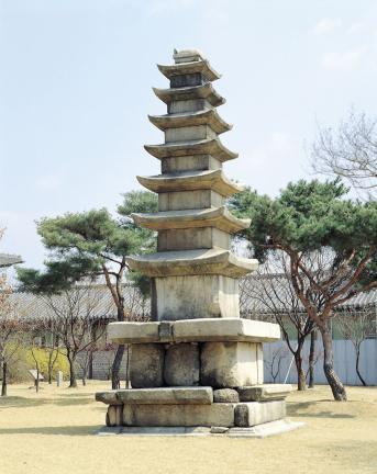 개성 남계원지 칠층석탑 전경