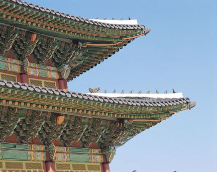 창덕궁 인정전 1,2층 추녀