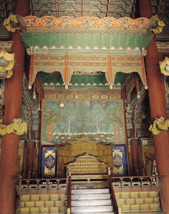 창덕궁 인정전 옥좌