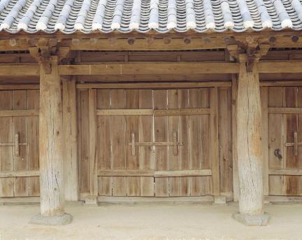 기둥과 판문