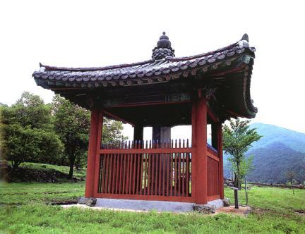 보령 성주사지 낭혜화상탑비(보호각)