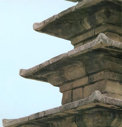 부여 정림사지 오층석탑(옥개석구성)