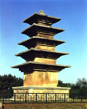 익산왕궁리오층석탑