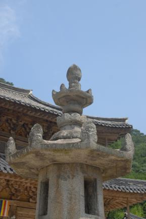 옥개석 및 상륜부 확대사진