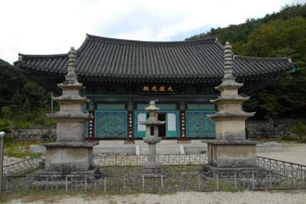 장흥 보림사 남ㆍ북 삼층석탑 및 석등