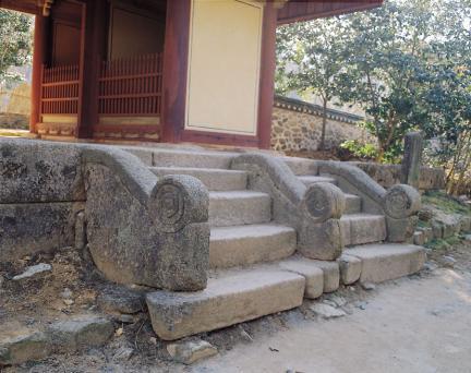 영암 도갑사 해탈문 정면 계단
