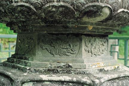 구례 연곡사 동 승탑 중대석 팔부신중