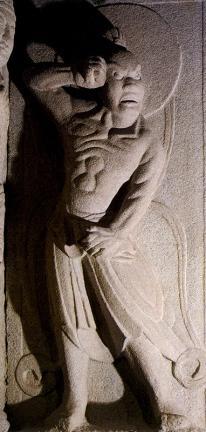 경주 석굴암 석굴(인왕상)