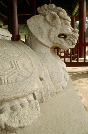 문경 봉암사 지증대사탑비(귀부)