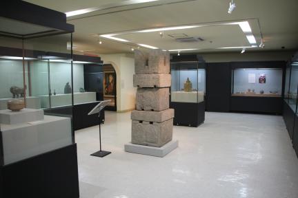 2018년 현상변경 이후_국보 제209호 보협인석탑 전경 1(동국대박물관 전시실)