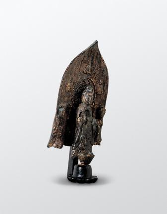 국보 제85호 금동신묘명삼존불입상(2014년 국보 동산 앱사진)002