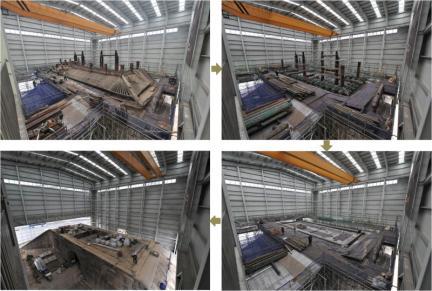 문루 해체 과정(2010.02~2010.04)