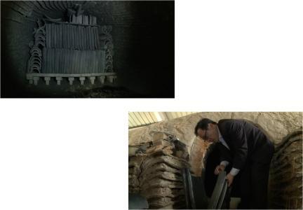 전통 기왓가마, 소성된 기와(2011.11)