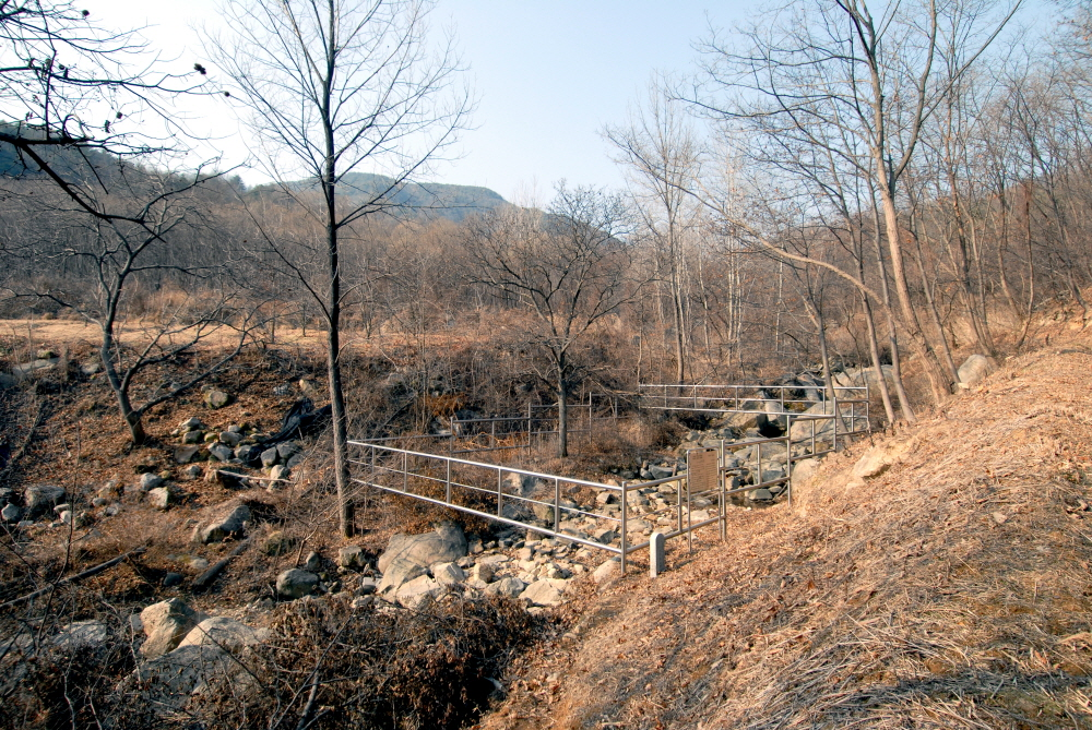 turtle granites in sangju