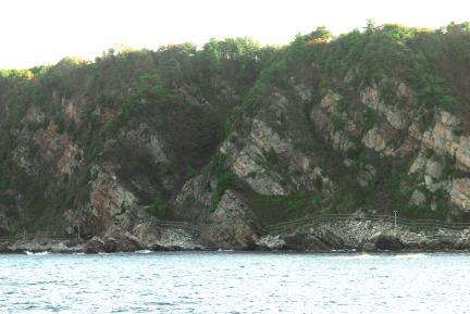 정동진 해안단구전면-해식애
