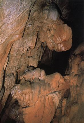 방추형종유석