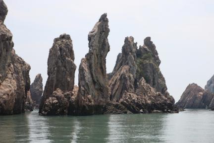 홍도천연보호구역 칼바위