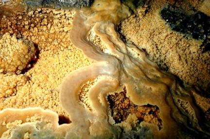 용천동굴 생성물