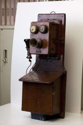 벽걸이형 자석식 전화기