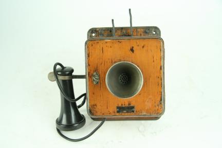 벽걸이형 공전식 전화기