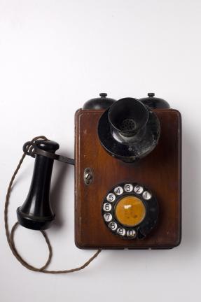벽걸이형 자동식 전화기