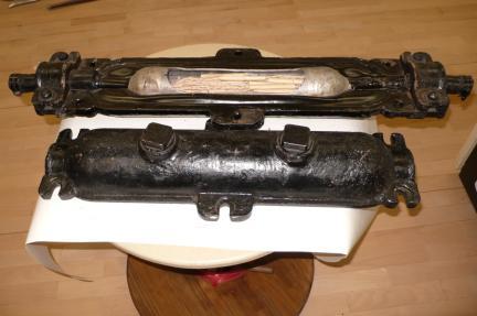 무장하 케이블 접속장치